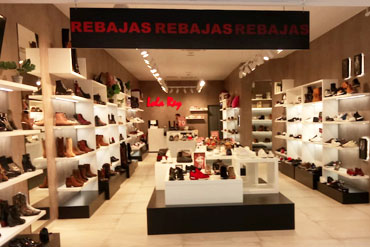 Tienda de zapatillas Lola Rey Bilbao